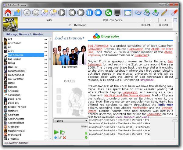 Vorschau JukeBox Browser - Bild 1