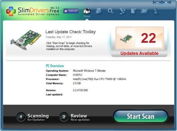 Vorschau SlimDrivers Free - Bild 1