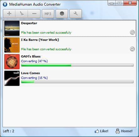 Vorschau MediaHuman Audio Converter - Bild 1
