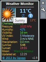 Vorschau Weather Monitor - Bild 1