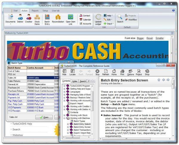 Vorschau TurboCASH Accounting - Bild 1