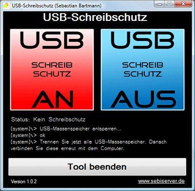 Vorschau USB-Schreibschutz - Bild 1