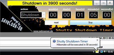 Vorschau Shutty Shutdown Timer - Bild 1