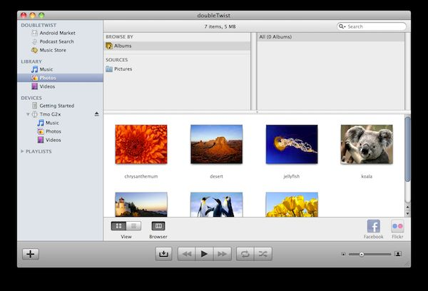 Vorschau doubleTwist for Mac - Bild 1