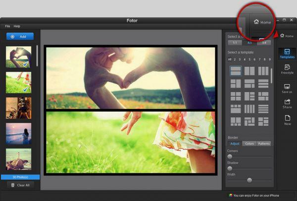 Vorschau Fotor-Photo Editor for Windows - Bild 1