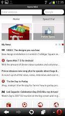 Vorschau Opera for Android - Bild 1