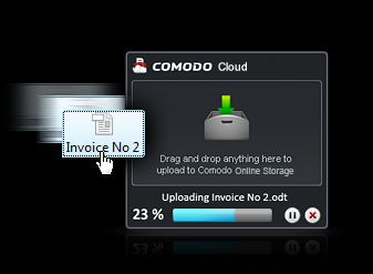 Vorschau Comodo Cloud - Bild 1