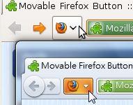Vorschau Movable Firefox Button - Bild 1