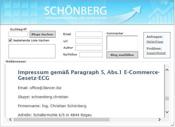 Vorschau SCHOENBERG - SEO-Tool - Bild 1