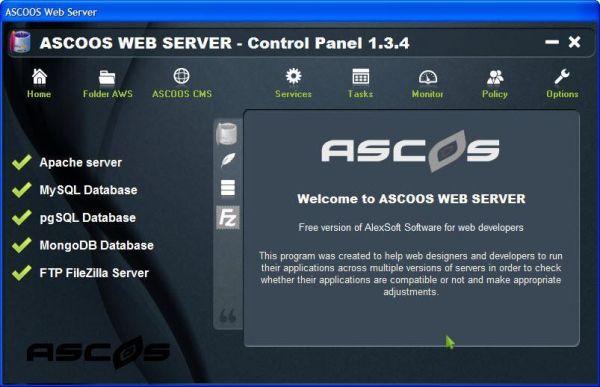 Vorschau ASCOOS Web Server - Bild 1