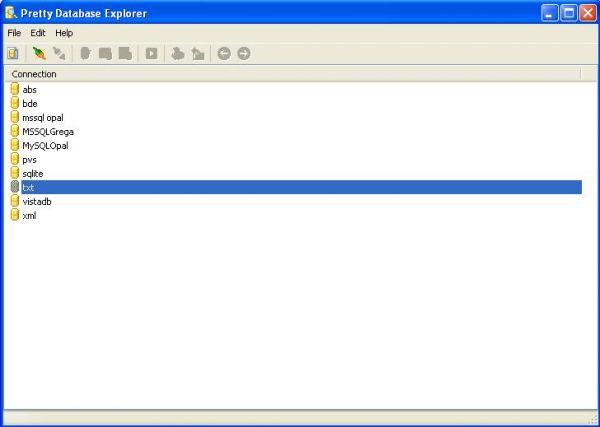 Vorschau Pretty Database Explorer - Bild 1