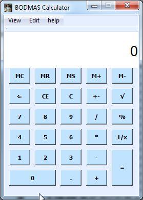 Vorschau BODMAS Calculator - Bild 1