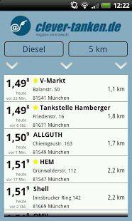 Vorschau clever-tanken.de for Android - Bild 1