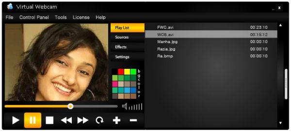 Vorschau Virtual Webcam - Bild 1