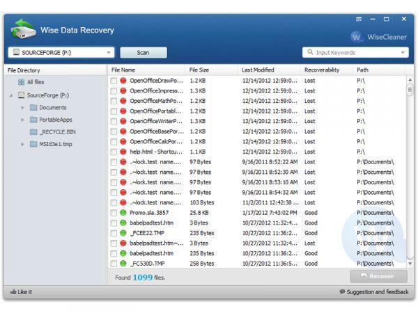 Vorschau Wise Data Recovery Portable - Bild 1