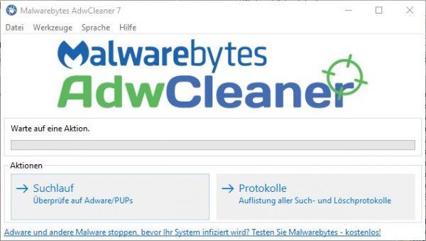 Vorschau AdwCleaner - Bild 1