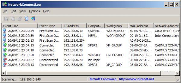 Vorschau NetworkConnectLog - Bild 1