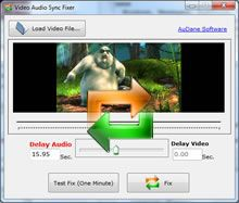 Vorschau Video Audio Sync Fixer - Bild 1