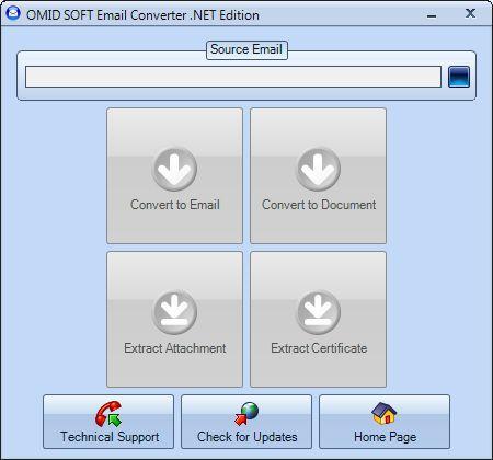 Vorschau Email Converter .NET - Bild 1