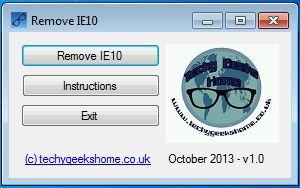 Vorschau Remove IE10 - Bild 1