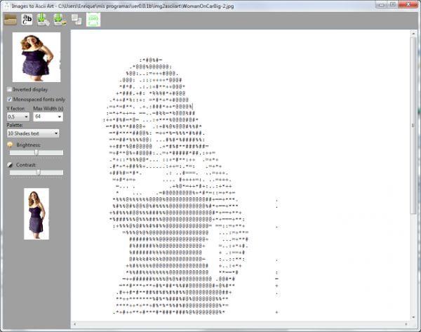 Vorschau Images to ASCII Art - Bild 1