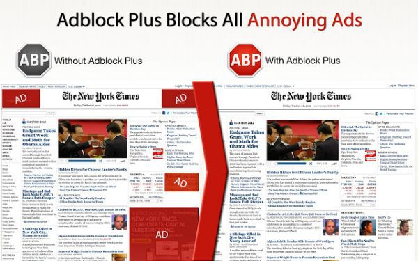 Vorschau Adblock Plus for Internet Explorer - Bild 1