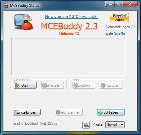 Vorschau MCEBuddy - Bild 1