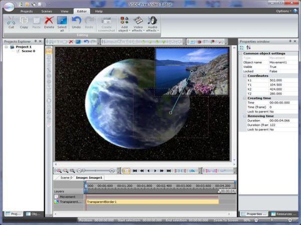 Vorschau VSDC Free Video Editor - Bild 1