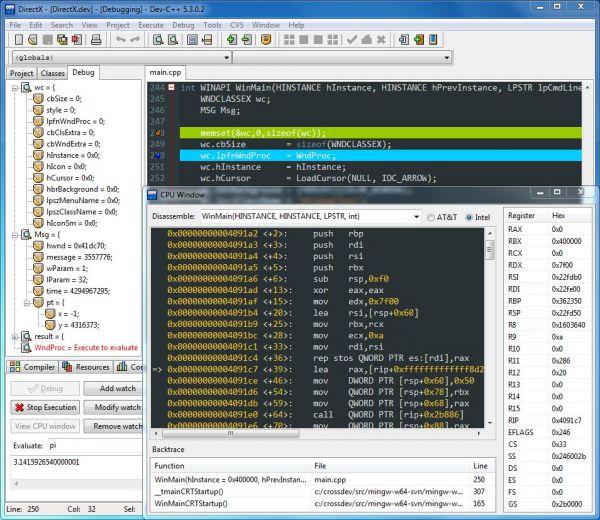 Vorschau DEV-C++ Portable - Bild 1