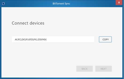 Vorschau BitTorrent Sync - Bild 1