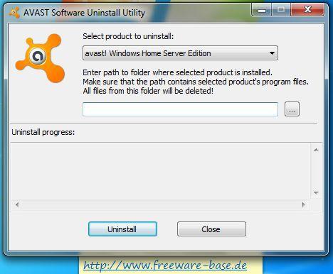 Vorschau Avast! Uninstall Utility - Bild 1