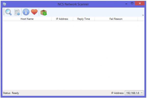 Vorschau NCS Network Scanner - Bild 1