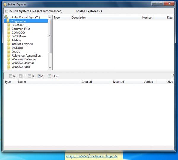Vorschau Folder Explorer - Bild 1