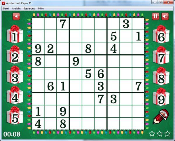 Vorschau Hard Christmas Sudoku - Bild 1