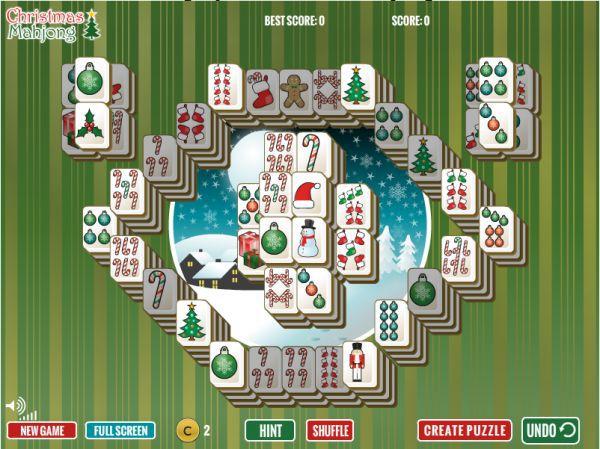 Vorschau Christmas Big Eye Mahjong - Bild 1