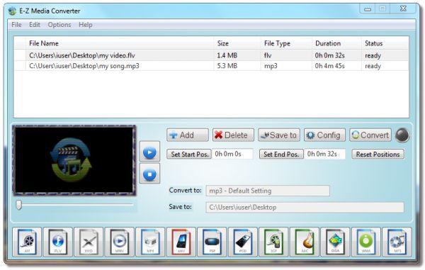 Vorschau E-Z Media Converter - Bild 1
