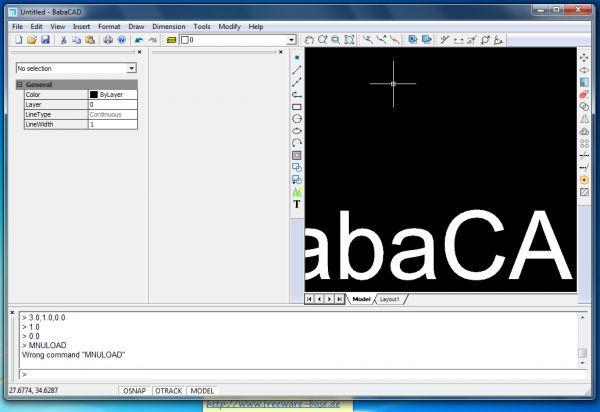 Vorschau BabaCAD - Bild 1