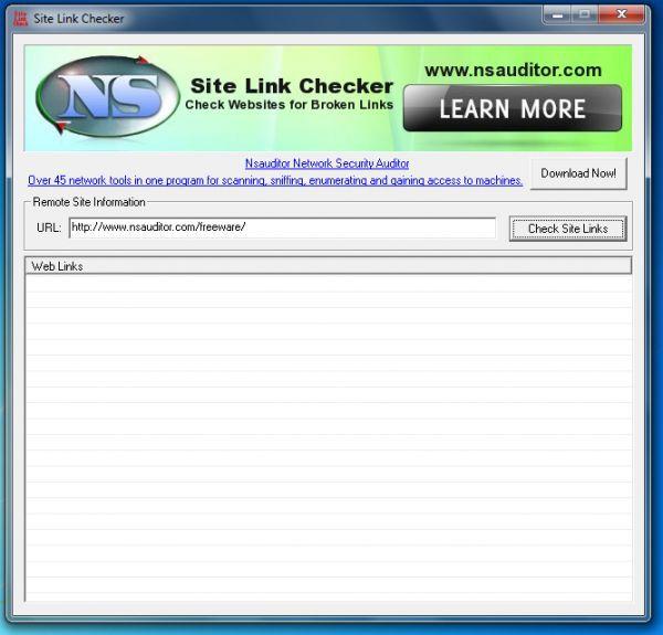 Vorschau Site Link Checker - Bild 1