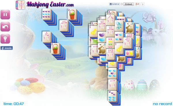 Vorschau Easter Seeds Mahjong - Bild 1