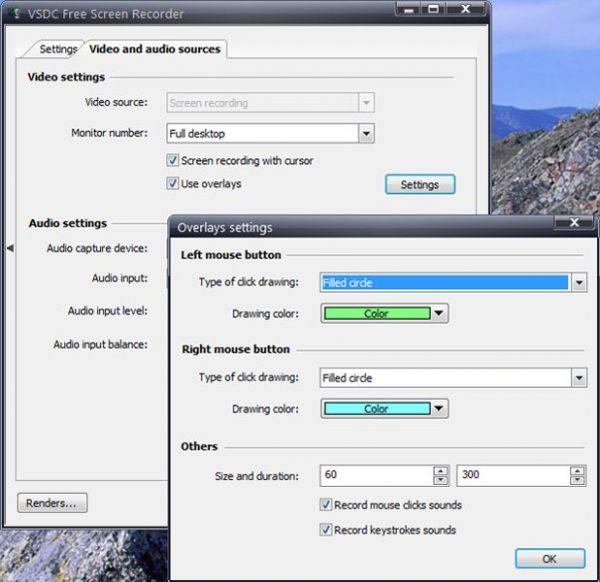 Vorschau VSDC Free Screen Recorder - Bild 1