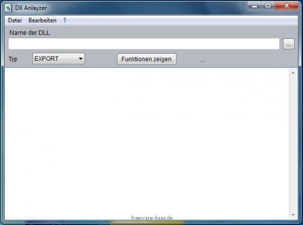 Vorschau DLL Analyzer - Bild 1