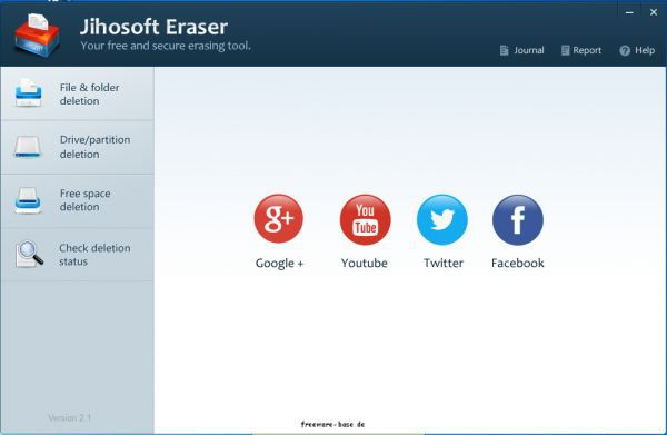 Vorschau Jihosoft Free Eraser - Bild 1