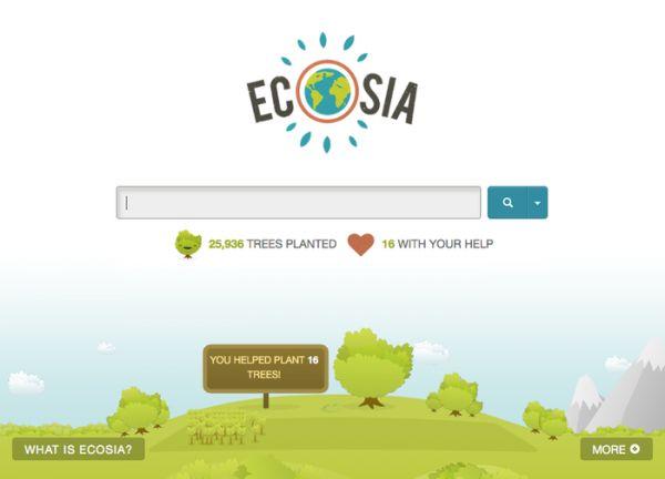 Vorschau Ecosia für Firefox - Bild 1