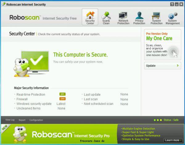 Vorschau Roboscan Internet Security Free - Bild 1