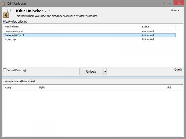 Vorschau IObit Unlocker Portable - Bild 1
