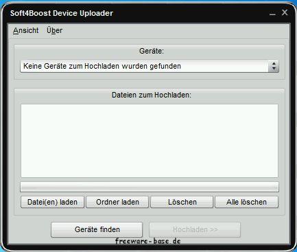 Vorschau Soft4Boost Device Uploader - Bild 1