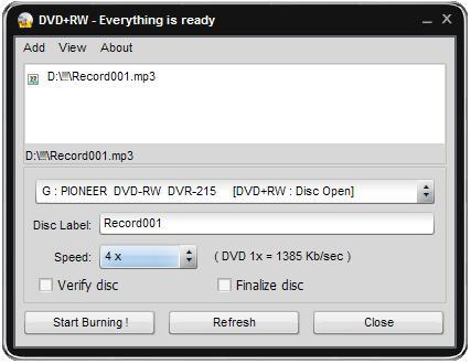 Vorschau Soft4Boost Easy Disc Burner - Bild 1