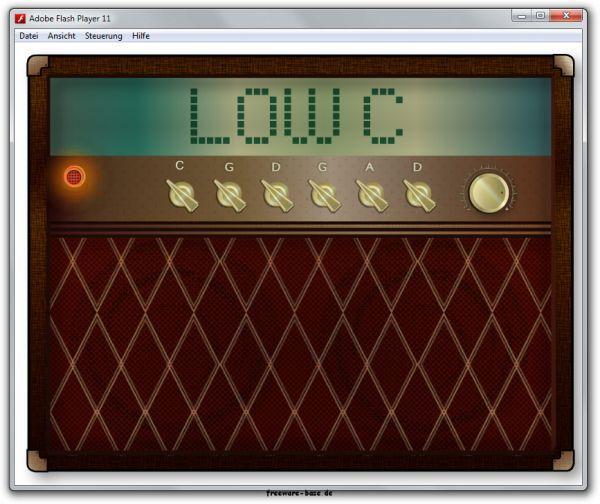 Vorschau Guitar Tuner Low C - Bild 1