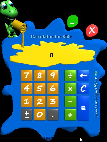 Vorschau Calculator for Kids - Bild 1