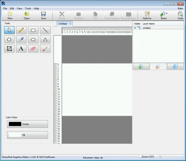 Vorschau DrawPad Graphics Editor - Bild 1